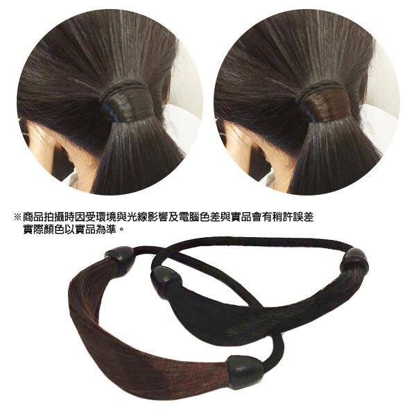 假髮髮圈 不傷髮彈力馬尾髮帶 造型髮飾髮束鬆緊髮帶