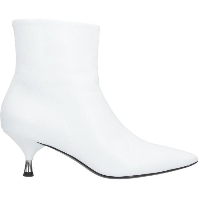 《セール開催中》BRUNO PREMI レディース ショートブーツ ホワイト 35 革