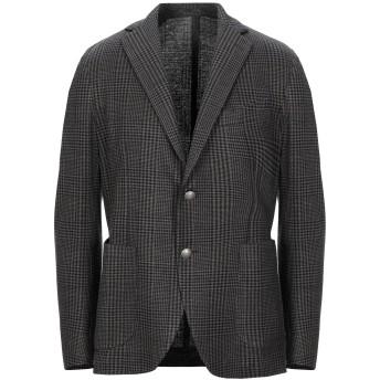 《セール開催中》ELEVENTY メンズ テーラードジャケット ダークブルー 46 リネン 52% / コットン 43% / ナイロン 5%