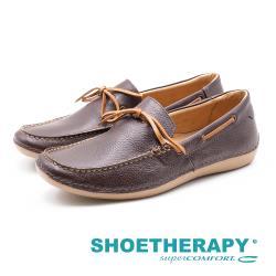 SAPATOTERAPIA 巴西男士皮革帆船休閒鞋 男鞋-深棕(另有咖