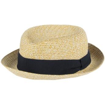 《セール開催中》BRIAN DALES メンズ 帽子 サンド L 指定外繊維(紙) 100%