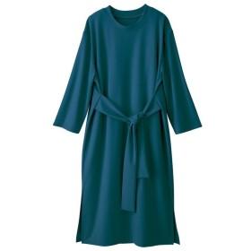 GeeRA リボンデザインカットソーワンピース ブルー S レディース 5,000円(税抜)以上購入で送料無料 ワンピース 夏 レディースファッション アパレル 通販 大きいサイズ コーデ 安い おしゃれ お洒落 20代 30代 40代 50代 女性 ワンピース ドレス