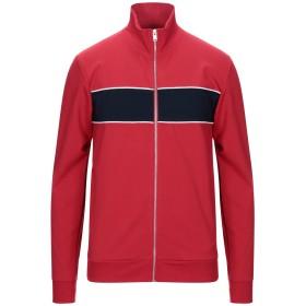 《セール開催中》SELECTED HOMME メンズ スウェットシャツ レッド S レーヨン 63% / ナイロン 33% / ポリウレタン 4%