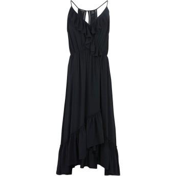 《セール開催中》MAISON SCOTCH レディース 7分丈ワンピース・ドレス ブラック XS レーヨン 100%