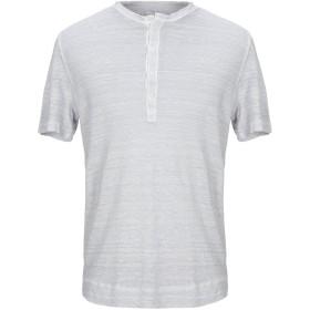 《セール開催中》120% メンズ T シャツ ライトグレー M リネン 100%