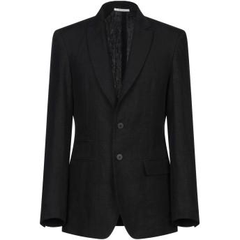 《セール開催中》ISABEL BENENATO メンズ テーラードジャケット ブラック 48 麻 100%