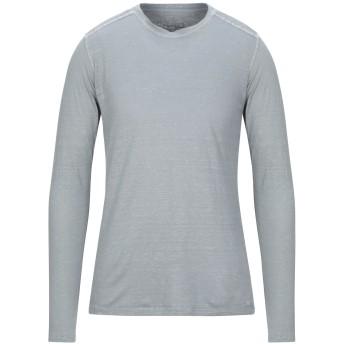 《セール開催中》120% メンズ T シャツ グレー S リネン 100%