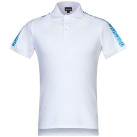 《セール開催中》JUST CAVALLI メンズ ポロシャツ ホワイト XS コットン 100%