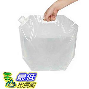 [106美國直購] 儲水袋 Echolife 10 Litres Collapsible Drinking Water Container BPA-Free Water Storage Bag Por