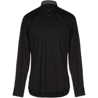 《セール開催中》ANTONY MORATO メンズ シャツ ブラック 46 コットン 76% / ナイロン 21% / ポリウレタン 3%
