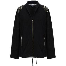 《セール開催中》FREDDY レディース スウェットシャツ ブラック XS ポリエステル 49% / コットン 30% / 金属繊維 21%