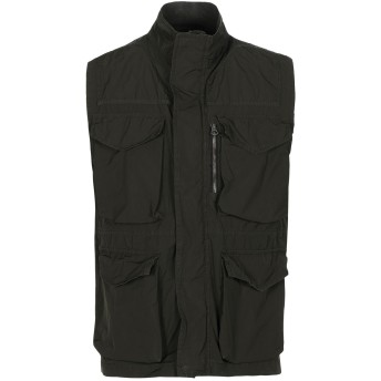 《セール開催中》HOMEWARD CLOTHES メンズ ブルゾン ダークグリーン M ポリエステル 100%