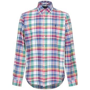 《セール開催中》POLO RALPH LAUREN メンズ シャツ ブルー L コットン 100%
