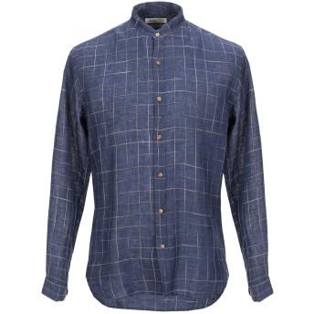 《セール開催中》COSTUMEIN メンズ シャツ ブルー 48 リネン 100%