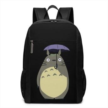アニメ 猫 傘 リュックバック リュックナップザック バッグ ノートパソコン用のバッグ 大容量 バックパックチ キャンパス バックパック 大人のバックパック 旅行 ハイキングナップザック