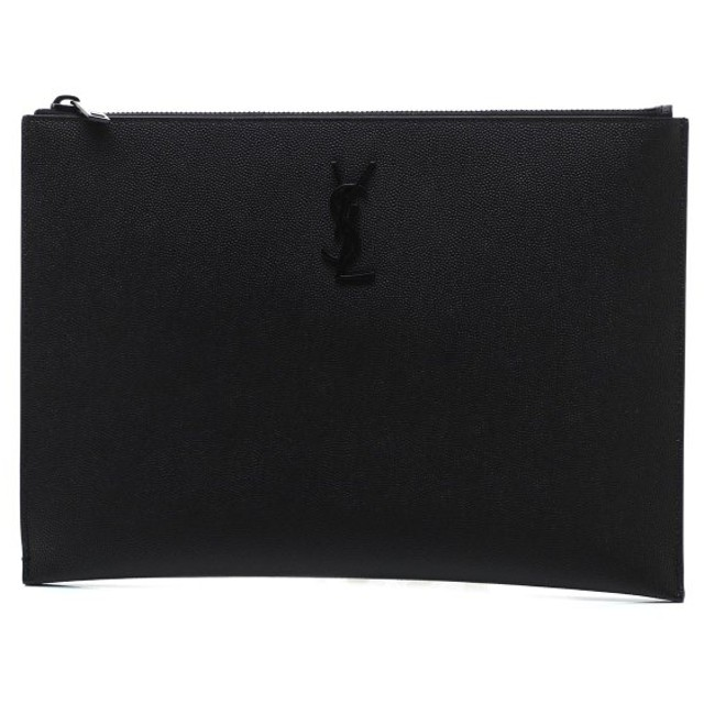 サンローランパリ SAINT LAURENT PARIS タブレットケース モノグラム ブラック メンズ 453249-bty0u-1000