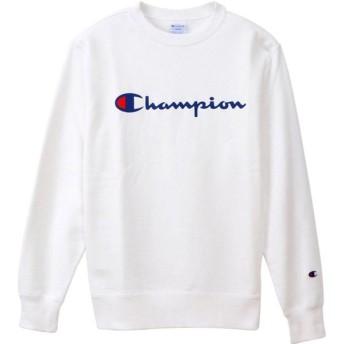 Champion(チャンピオン) クルーネック スウェットシャツ メンズ C3Q002 ホワイト XL