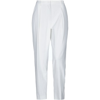 《セール開催中》MARC CAIN レディース パンツ ホワイト 2 ポリエステル 79% / コットン 15% / リネン 6%