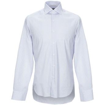 《セール開催中》WEBB & SCOTT CO. メンズ シャツ スカイブルー 39 コットン 97% / ポリウレタン 3%