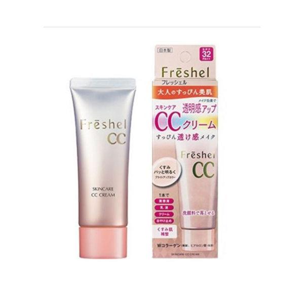 Freshel 膚蕊 美肌淨透CC霜 50g SPF32 PA++