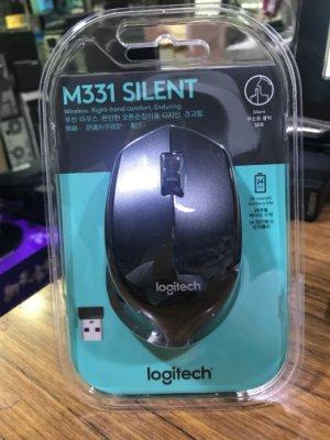 點子電腦☆北投@Logitech 羅技 M331 SILENT 無線靜音滑鼠 黑色☆580元