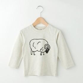 [マルイ]【セール】羊プリント天竺プルオーバー/デッサン(キッズ)(Dessin Kids)