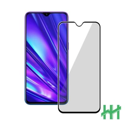 【HH】鋼化玻璃保護貼系列 realme XT (6.4吋)(全滿版黑)