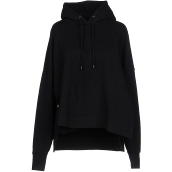 《セール開催中》MARCELO BURLON レディース スウェットシャツ ブラック S コットン 100% / ポリウレタン