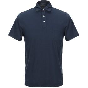 《セール開催中》BL'KER メンズ ポロシャツ ダークブルー S コットン 100%