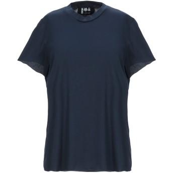 《セール開催中》LABO. ART レディース T シャツ ダークブルー 1 コットン 100%
