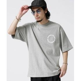 【nano・universe:トップス】【WEB限定】NN別注サークルプリントTシャツ