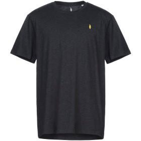 《セール開催中》WALTBAY メンズ T シャツ ブラック XXL オーガニックコットン 100%