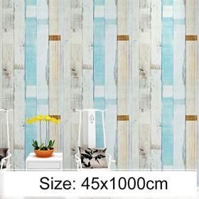 家の装飾の壁のステッカー クリエイティブpvc自己粘着レンガの装飾壁紙ステッカー寝室のリビングルームの壁防水壁紙ロール、サイズ:45 x 1000cm ウォールステッカー (色 : Beige)