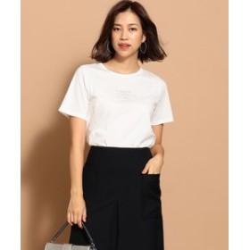 【ICB:トップス】Cotton Jersey ロゴTシャツ