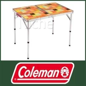 Coleman コールマン ナチュラルモザイク リビングテーブル / 90プラス [ 2000026752 ] バーベキュー テーブル アウトドア BBQ