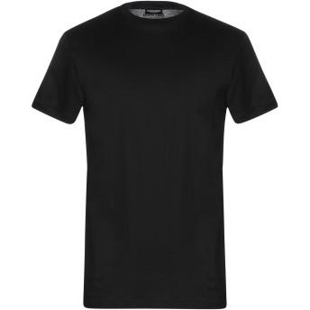 《セール開催中》DSQUARED2 メンズ アンダーTシャツ ブラック S コットン 100%