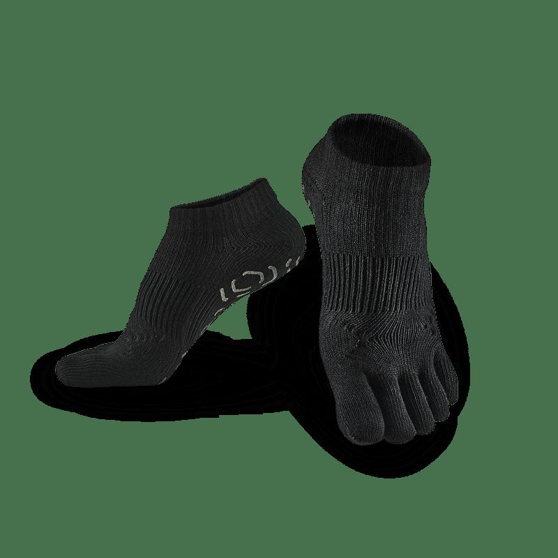 五趾功能訓練踝襪 - 3雙 灰 M (22-25cm)