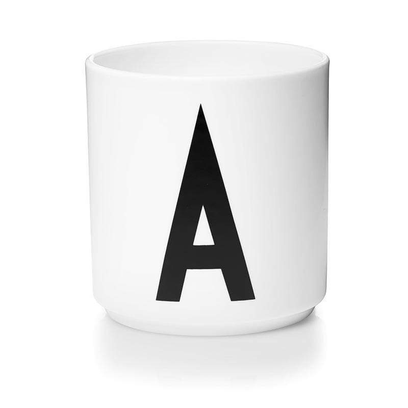 A-Z骨瓷杯 - 單入 a. A