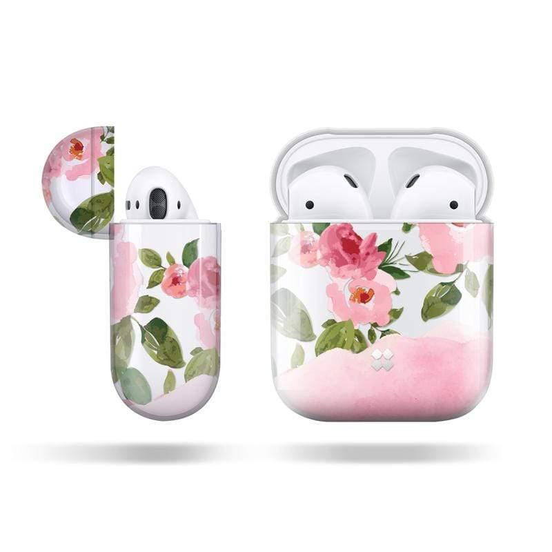 Prismart 保護殼 for AirPods 1&2 , 無線充電盒 盛開花朵