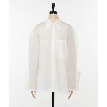 <AKIRA NAKA/アキラ ナカ> Tham out tuck sleeves shirt WT WHITE【三越・伊勢丹/公式】