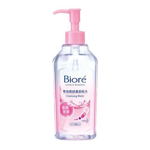 Biore蜜妮零油感舒柔卸妝水-溫潤保濕型300ml【愛買】