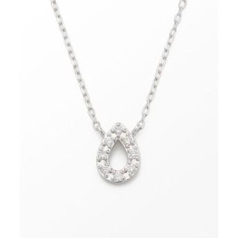 【ジュエッテ/Jouete】 K10WG レイヤーネックレス ダイヤモンド