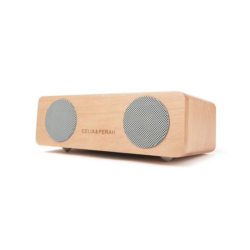 CELIA&PERAH M2 無線高傳真實木音響-山毛櫸原木色