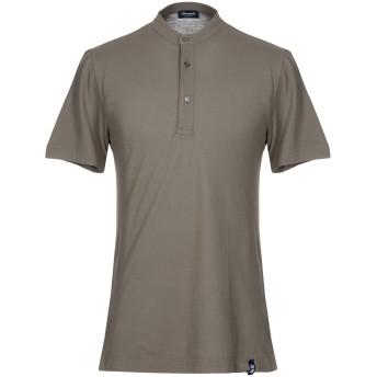 《セール開催中》DRUMOHR メンズ T シャツ ミリタリーグリーン S 100% コットン