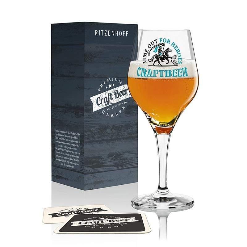 手工精釀啤酒杯 -啤酒騎士