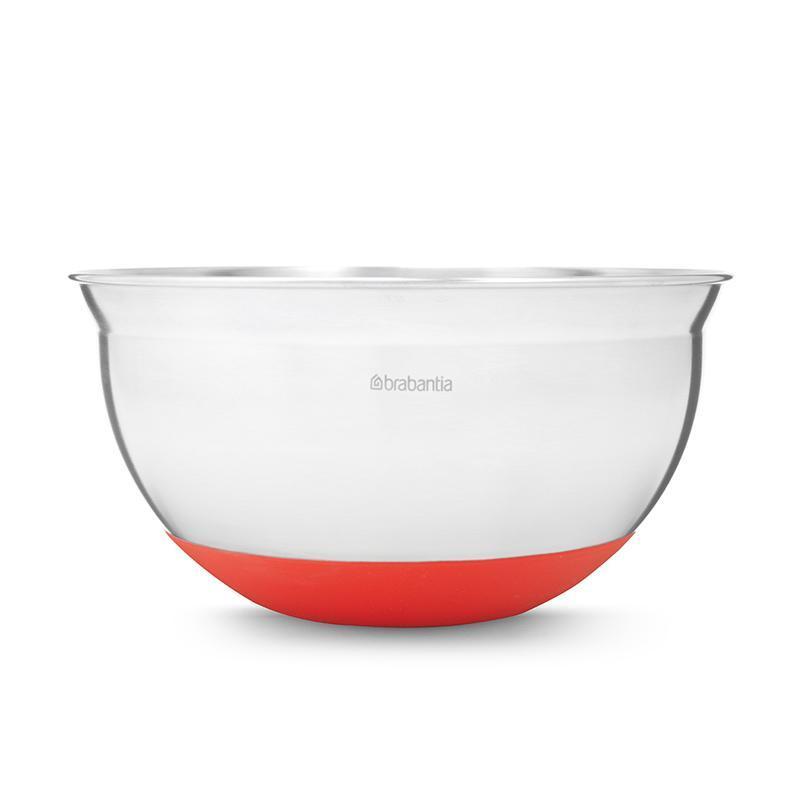 不鏽鋼調理缽1.6L(三色) 熱情紅