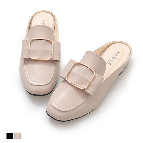 穆勒鞋.穿搭首選低跟包鞋