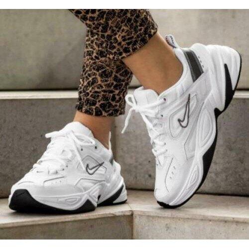 【日本海外代購】Nike M2K Tekno White 白色 白黑 白銀 銀白 老爹鞋 厚底 增高 女鞋 BQ3378-100