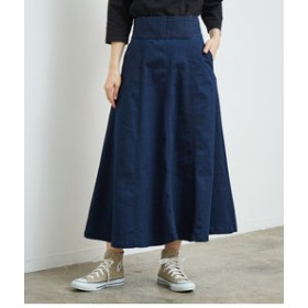 【ROPE' PICNIC:スカート】【くびれメイク】フレアスカート