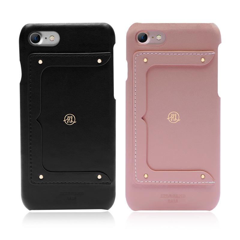 """皮革保護殼系列-iPhone 7 plus (5.5"""") Melies 設計師款真皮背蓋 玫瑰粉"""